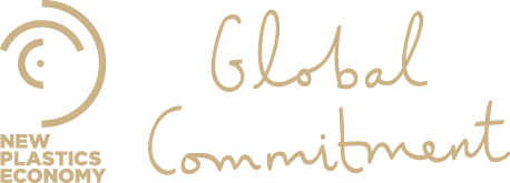 New Plastics Economy - Global Commitment logo